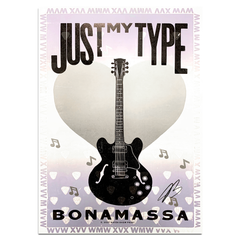 Just My Type (2021) Hatch Print - Hand-Signed