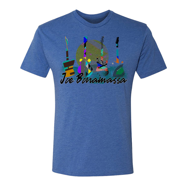 Watercolor Blues T-shirt (Unisex) - Royal