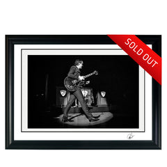 "#22 ""VINTAGE BONAMASSA"" JOE BONAMASSA Collectible Litho (FRAMED - USA ONLY)"