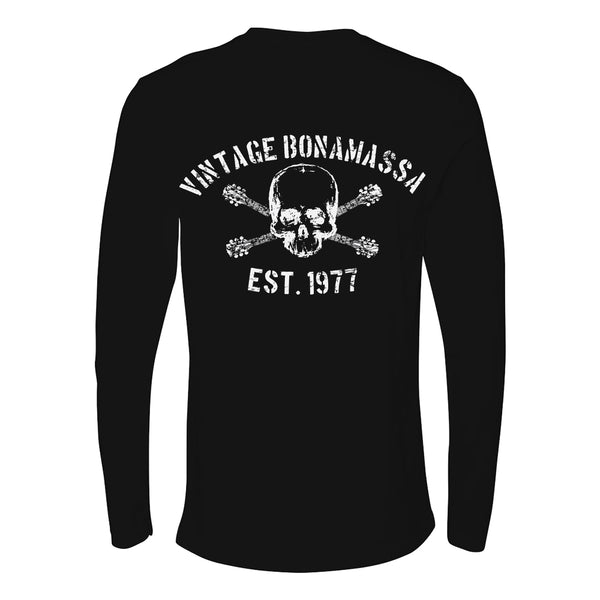 JB Vintage Long Sleeve (Men) - Black