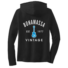 Vintage Guitar Hooded Long Sleeve (Women)