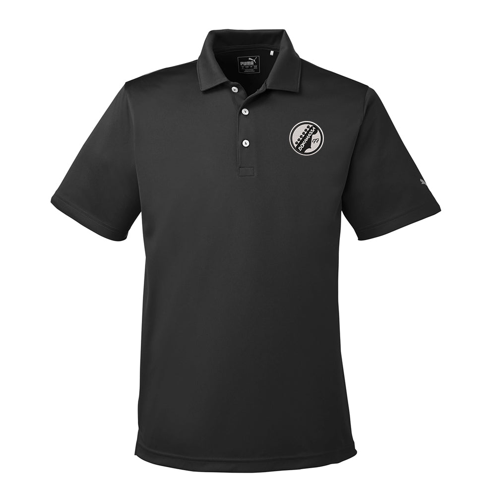 Vintage Headstock Puma Golf Icon Polo (Men) - Black