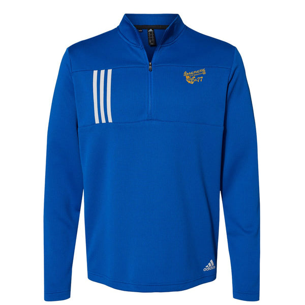 Vintage Meets Blues Adidas Double Knit 1/4 Zip Pullover (Men) - Royal
