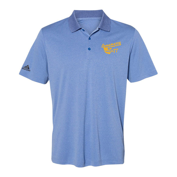 Vintage Meets Blues Adidas Sport Polo (Men) - Royal Heather