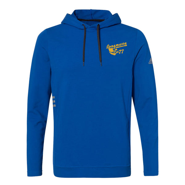 Vintage Meets Blues Adidas Hooded Sweatshirt (Men) - Royal