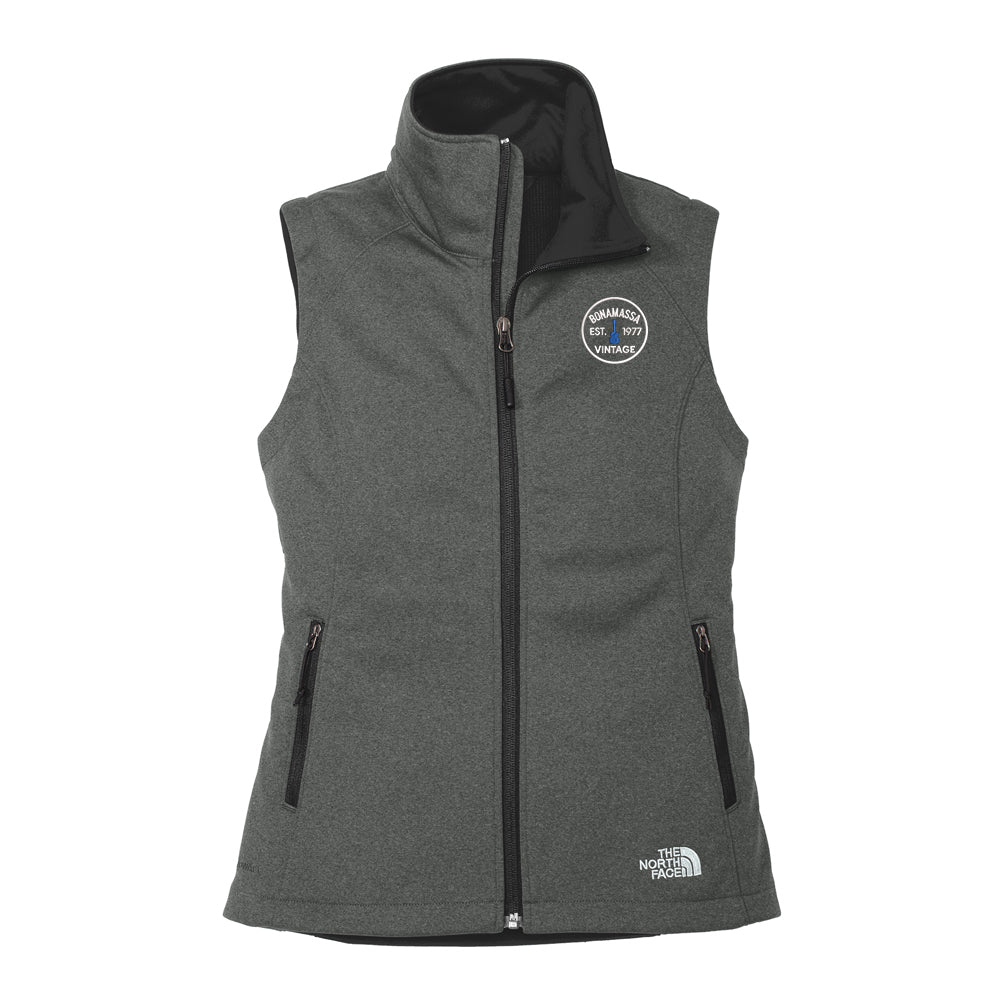 Vintage Guitar - North Face Ridgeline Soft Shell Vest (Women) - Dark Grey