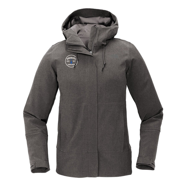 Vintage Guitar - The North Face Apex DryVent Jacket (Women) - Heather Grey