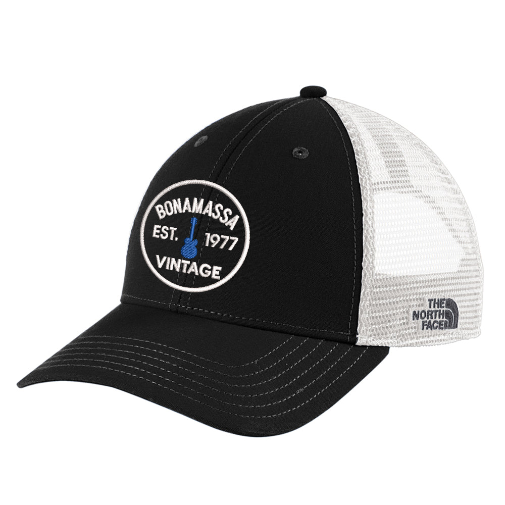 Vintage Guitar The North Face Ultimate Trucker Hat - Black/White
