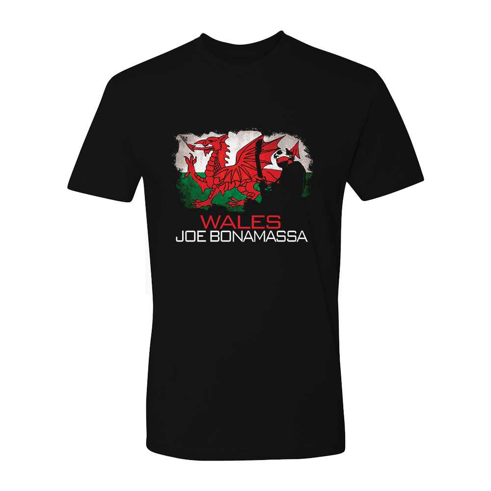 Joe Bonamassa World Shirt: Wales