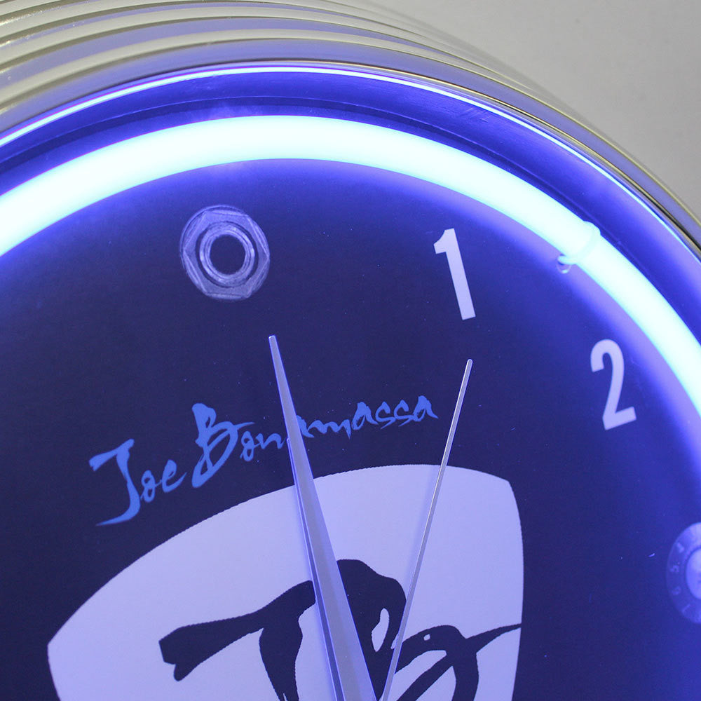 Classic Jb Neon Clock Joe Bonamassa Official Store