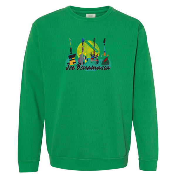 Watercolor Blues Comfort Colors Sweatshirt (Unisex) - Clover