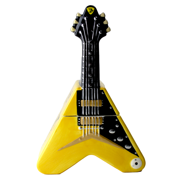 Flying V Cookie Jar