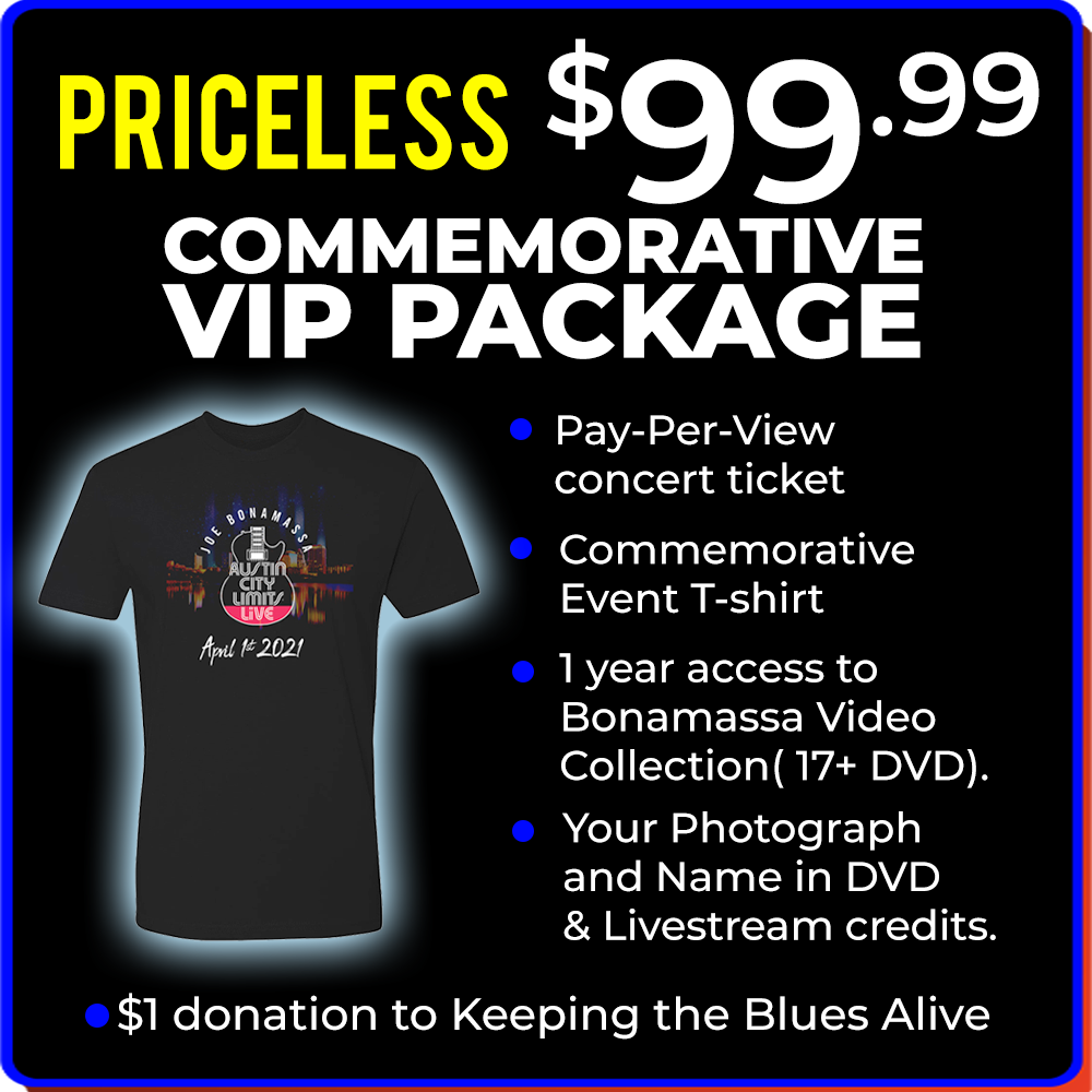 ACL Live Commemorative VIP Package