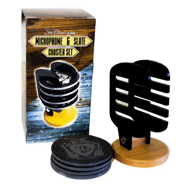Microphone Coaster Set - Set of 4 Coasters