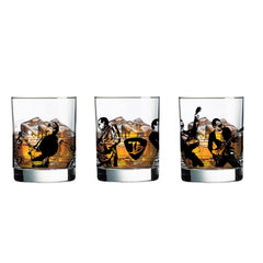 Joe Silhouettes DOF Glass - Set of 4
