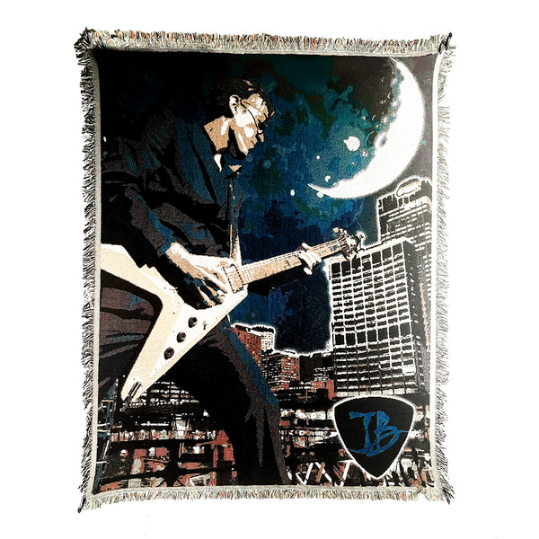 Blues Skyline Blanket