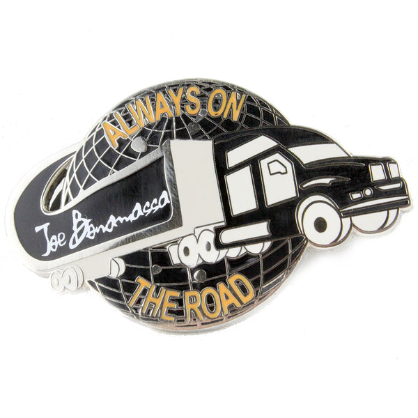 Always on the Road Bona-Cruiser Pin