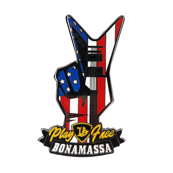Peace & Blues Pin