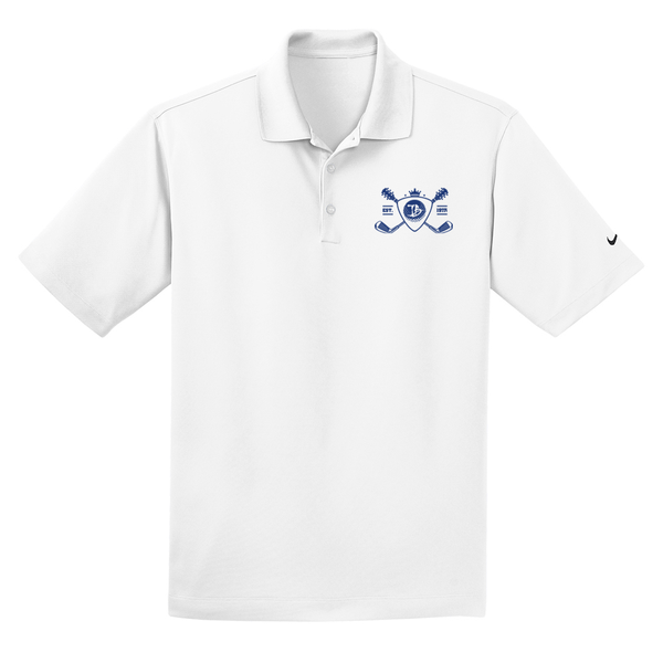 Blues Bogey Nike Dri-FIT Micro Pique Polo (Men) - White
