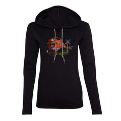"""This Train"" Hooded Long Sleeve (Women)"