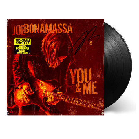 Joe Bonamassa: You and Me (Vinyl) (Released: 2006) - Hand-Signed