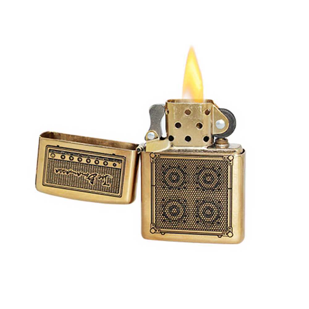 Bonamassa Amp Zippo Lighter - Brass – Joe Bonamassa Official Store