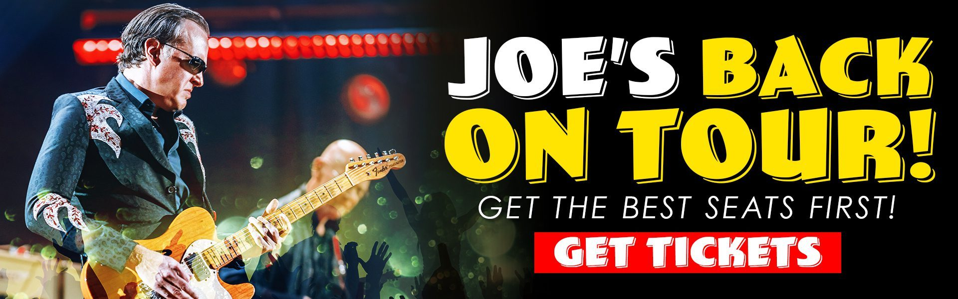 Joe on Tour!
