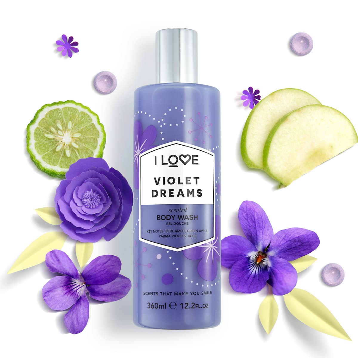 Violet Dreams Bodywash 360ml