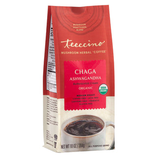 Chaga Ashwagandha Butterscotch Cream</br>Mushroom Herbal Coffee