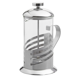 Silver French Press Pot