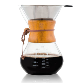 Glass Pour Over <br>Coffee Maker