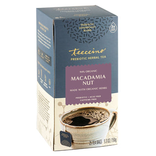 Macadamia Nut</br>Prebiotic SuperBoost Herbal Tea