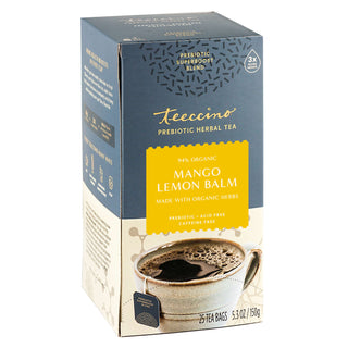 Mango Lemon Balm</br>Prebiotic SuperBoost Herbal Tea