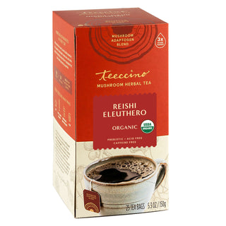Reishi Eleuthero French Roast</br>Mushroom Herbal Tea