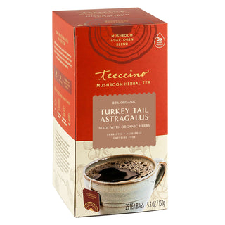 Turkey Tail Astragalus Toasted Maple</br>Mushroom Herbal Tea