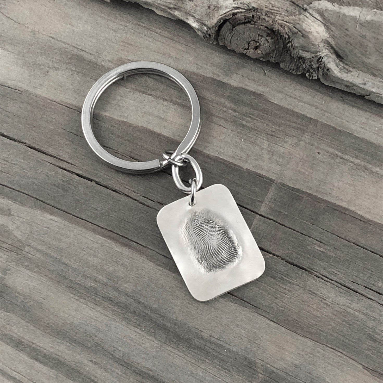 Dog Tag Smoosh Pendant