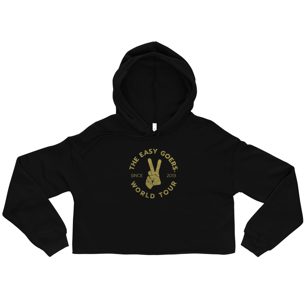 Living Easy® Easy Goers World Tour Crop Hoodie