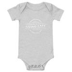 Living Easy® Faded Logo Baby Onesie