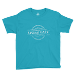 Living Easy® Faded Logo Kids Tee
