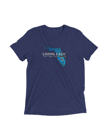 Living Easy Florida Bluewater Fishing Tee