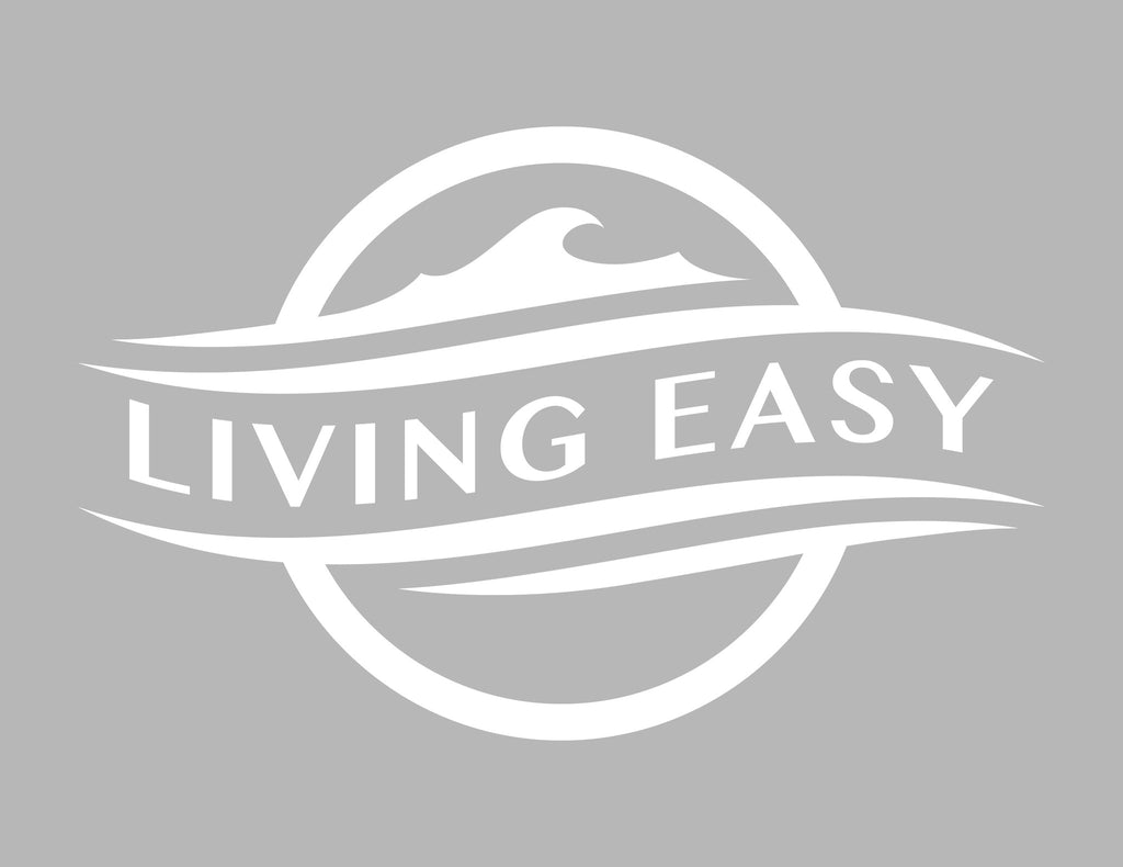 Living Easy Decal