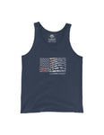 Living Easy American Flag Tank Top