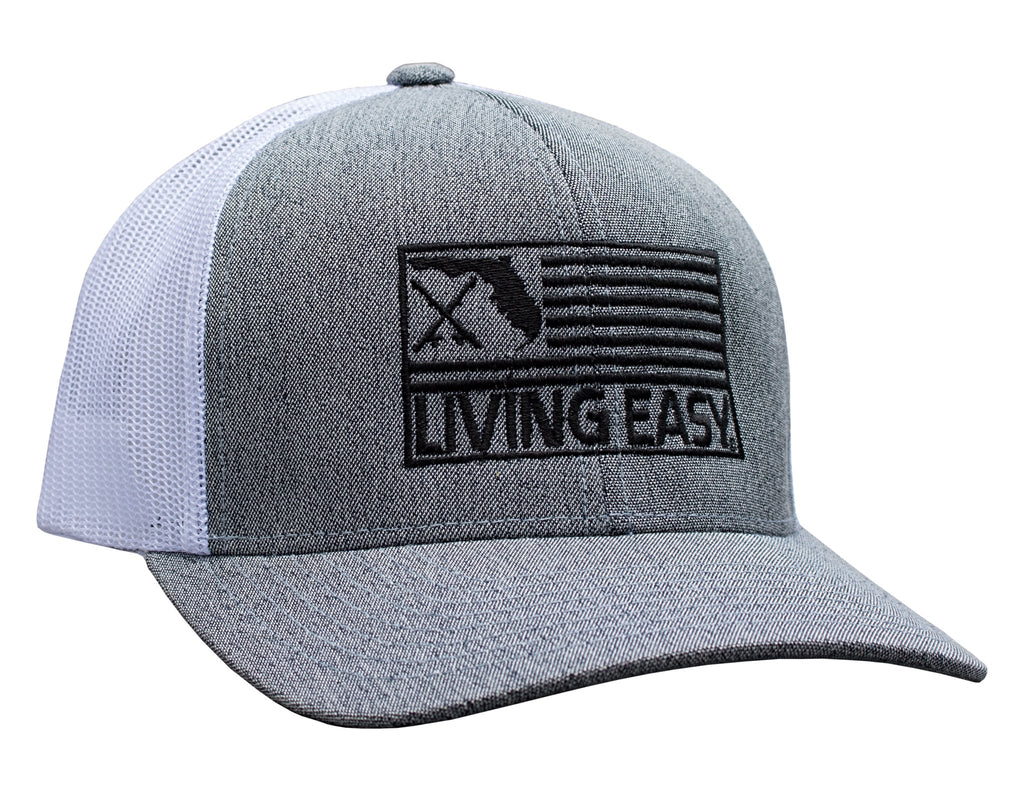 Living Easy® Florida Fish Flag Snapback Hat