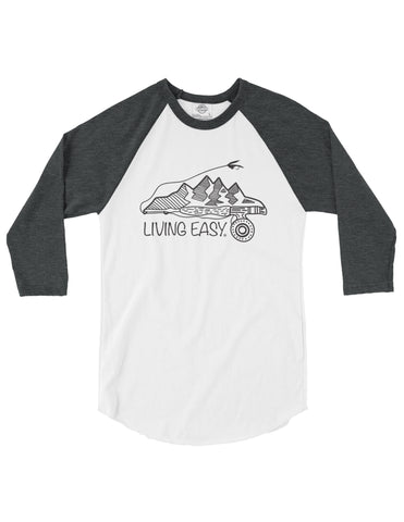 Living Easy Great Outdoors Baseball Tee