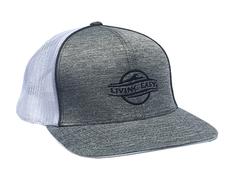 Logo Heather Grey Mesh Hat