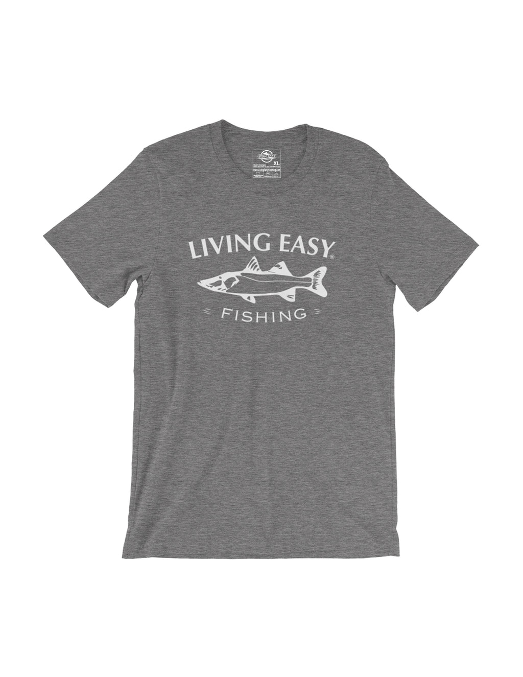 Living Easy Snook Fishing Tee