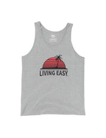 Living Easy Sunset Palm Tank Top