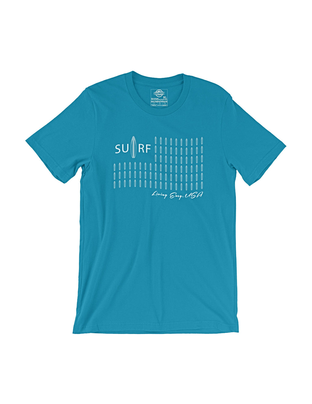 Living Easy® Surf USA Tee