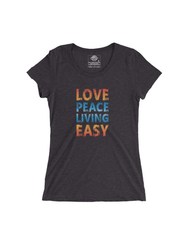 Living Easy Love & Peace Tee