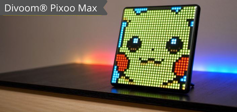 Divoom® Pixoo-Max Digital Pixel Art Picture Frame with 32x32 Programmable LED, New Home Light Decor